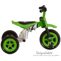 Triciclo Para Niños Kawasaki Verde