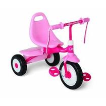Radio Flyer Fold 2 Girls Go Trike Rosa