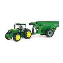 John Deere 6210r Tractor Con Grano De La Compra