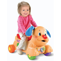 Fisher Price Stride To Ride Puppy Carrito Montable Andador