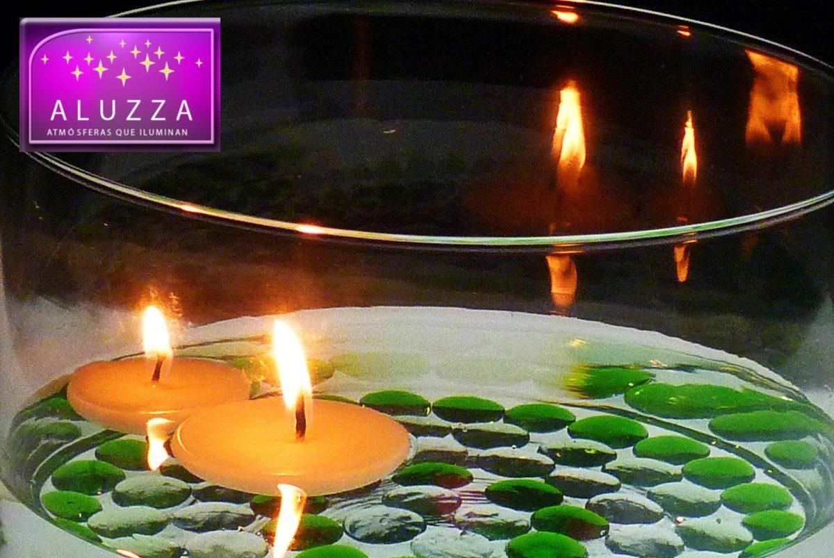 Centro de mesa para boda aluzza mmu cilindro de cristal - Centros de mesa con velas ...