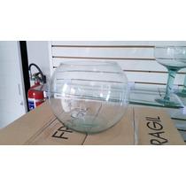 Pecera De Cristal # 10 Ideal Para Decoracion (25cmx20cm)