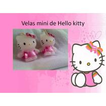 Velas Decorativas,vela Mini De Hello Kitty Regalo Recuerdo