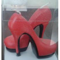 Velas De Zapatillas Para Pastel De Xv 15 Años O Recuerdos
