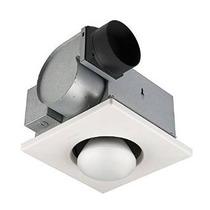 Broan 162 1-bulb Calentador Apertura Ventilador Para Baño Co