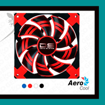 Ventilador Aerocool Ds De 120mm Ultra-silencioso Con Luz Led