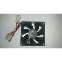 Ventilador Gabinete Conector Molex, Tornillos, Negro