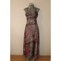 Original Vestido Largo De Tirantes Rue De La Paix