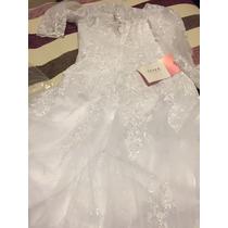 Vestido De Novia Nuevo Talla 10