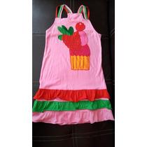 Vestido O Bluson Para Niña Talla 8, Marca Agatha