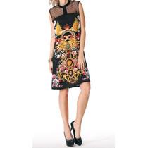 Vestido Semiformal Lindo Tipo Versage Envío Gratis