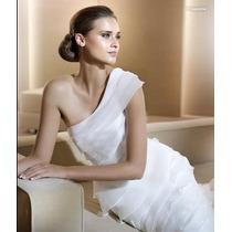 Hermoso Vestido De Novia Strapless Boda Amor Corte Imperio