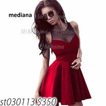 Hermoso Vestido Rojo Super Coqueto Moda Asiatica
