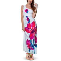 Vestido De Playa Para Mujer