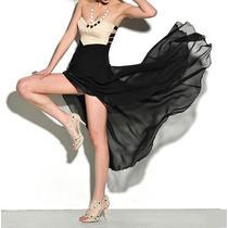 Vestido Largo De Fiesta Casual Moda Sexy Envío Gratis 610
