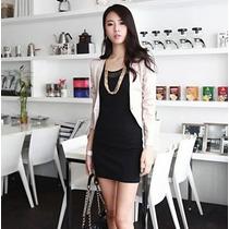 Vestido Corto Casual Moda Japonesa Envío Gratis 751