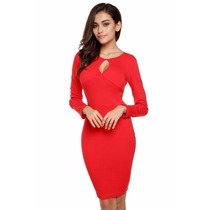 Vestidos Rojos Moda 2016 Sexy Antro Fiesta Coctel