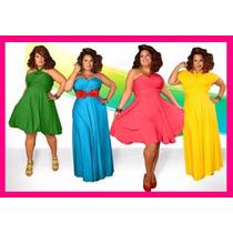 Vestido Multiformas Convertible Damas Tallas Extras Día-noch