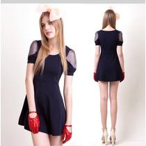 Vestido Corto Fashion Glamour Moda Japonesa Envío Gratis 776