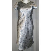 Vestido De Niña T.10/12, Gris, Elegante, Christie Brooks