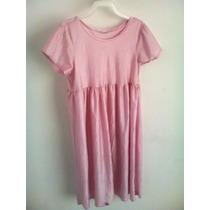 Vestido O Vatita Rosa Niña T- Detalle Bara