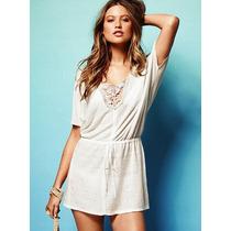 Linen Tunic Sweater M/l Victoria Secret Moda International