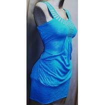 Vestido Bluson Minivestido Moda Actual