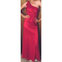 Vestido De Noche Fiesta Rojo Rimini Liverpool Remate