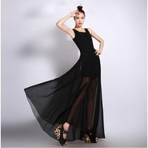 Vestido Largo De Fiesta Elegante Moda Japonesa 920