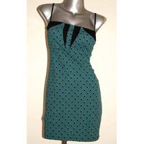 Vestido Strech Saarah Bustani Talla L Solo $ 170.00