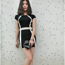 Vestido Corto Estilo Casual Moda Japonesa Primavera 940