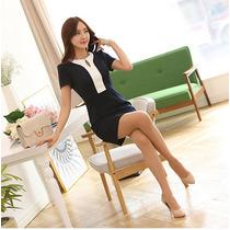 Vestido Elegante Corto Formal Moda Japonesa Fiestas 1045