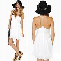 Vestido Blanco Moda Europea Moda Japonesa Verano Vbf