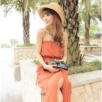 Vestido Largo Casual Primavera Verano Envío Gratis 1153
