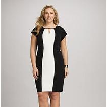 Vestido Corto Casual Talla Extra Grande Formal Elegante 1180