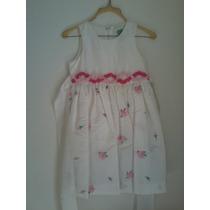 Limpia De Closet Fino Vestido De Seda Para Niña Talla 8