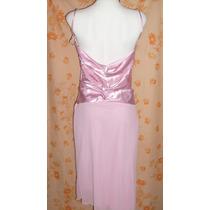No Limpia Closet Vestido Nuevo Etiqueta Fiesta Rosa Talla 11