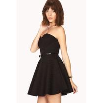 Vestido Forever 21 Color Negro Talla Grande