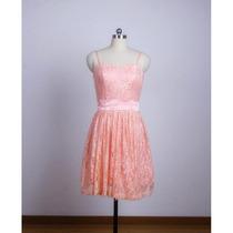 Baituya Vestido De Fiesta Corto Color Rosa Con Correa