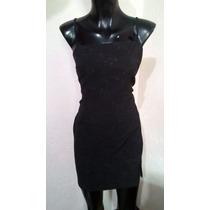 Vestido Strech Negro Basico Tala Ch Rampage