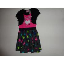 Vestido Niña Hello Kitty Tallas: 6 Y 6x Modelo:1017