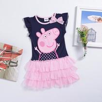 Vestido Peppa Pig En Remate Talla 4 Y 5 Unicamente