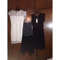 Lote De 3 Vestidos Nuevos Por 1500