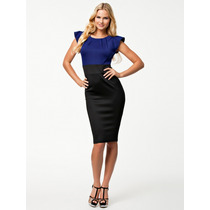 Vestido Blusa Azul 048