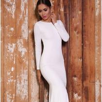 Vestido De Fiesta Largo Elegante Sexy Envío Gratis 2336