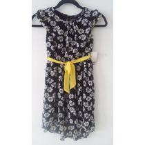 Vestido Para Niña Flores Super Coqueto Talla 8 *:*