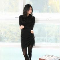 Vestido Corto Casual Manga Largo Envio Gratis 2384