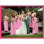 Vestido Fiesta Convertible Damas D Honor Largo Corto
