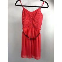 Vestido Dama Marca Bcx Style, Color Rosa, Con Cinto