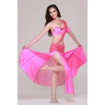Hermoso Traje De 4 Piezas Para Bellydance Danza Arabe